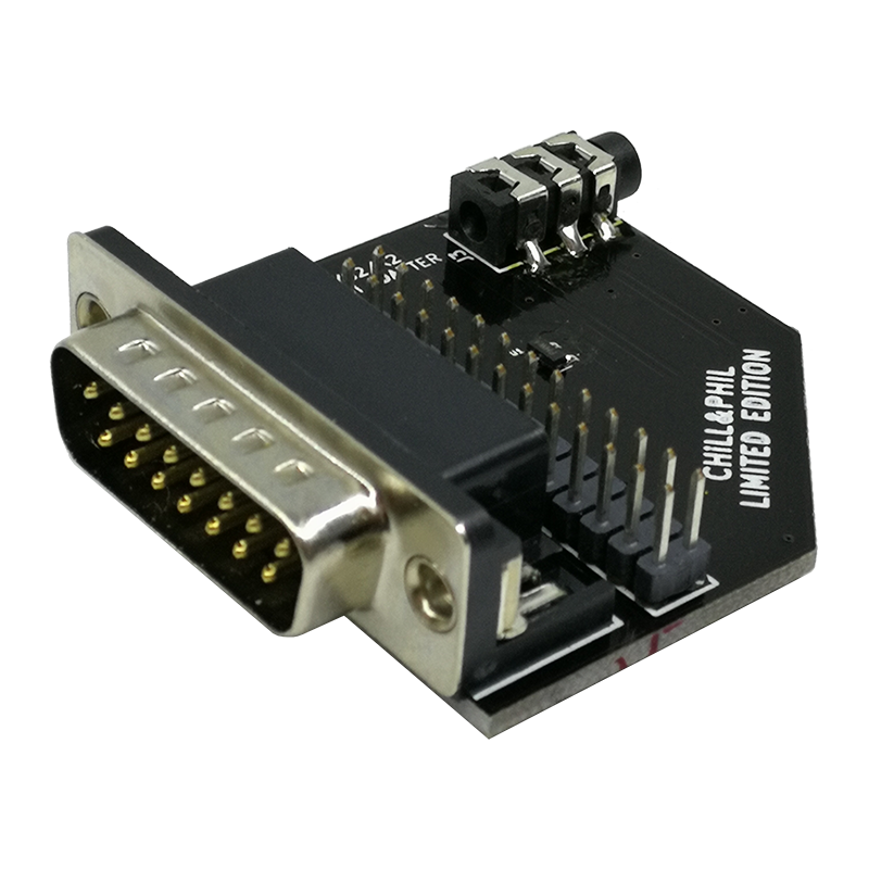 Wavetable Adapter - MPU-401 MIDI Joystick/Gamepoort