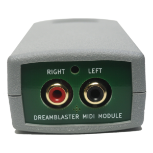 DreamFace - Module MIDI d'interface Dreamblaster - Connecteurs RCA