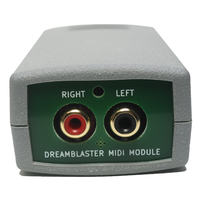 DreamFace - Modulo MIDI Interface Dreamblaster - Connettori RCA
