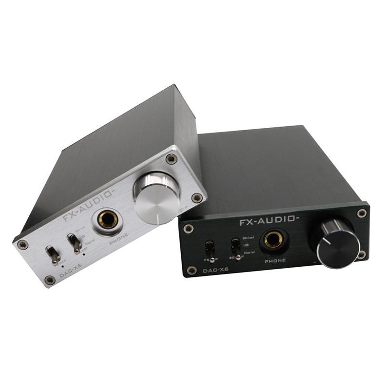 DAC-X6 – Digitaal-Analoogomzetter - Zwart & Zilver