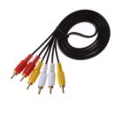 Cable de Extensión AV RCA - Macho a Macho