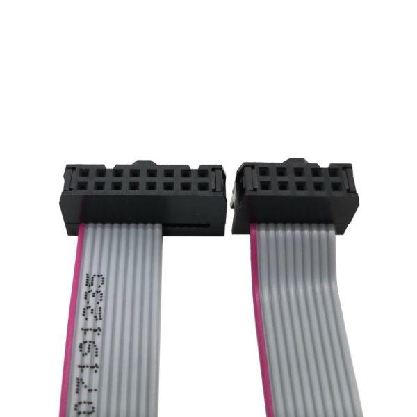 """Cables Cinta Plana de Alimentación Eurorack - IDC 2.54 mm - 0.1""""  - 10 a 16 pin"""