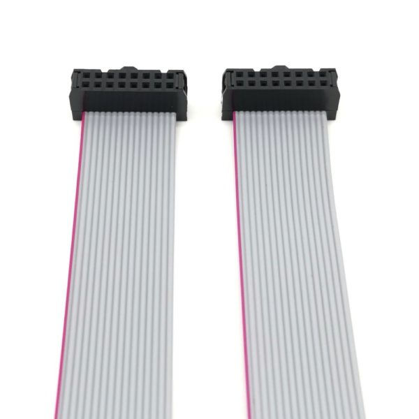 """Cables Cinta Plana de Alimentación Eurorack - IDC 2.54 mm - 0.1""""  - 16 a 16 pin"""